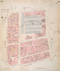 Insurance Plan of London Vol. XI: sheet 314